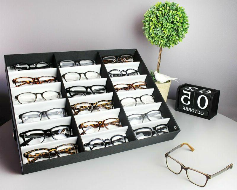 Juvale Case Storage Slot Sunglass Box For And