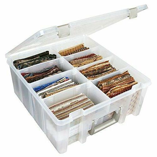 ArtBin 6990AB Super Satchel Compartment Box - Clear, Art and