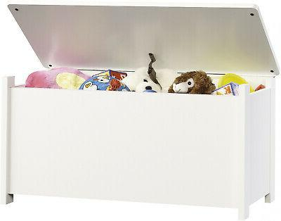 Toy Box Bin Large Bedroom Furniture Playroom White