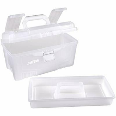 Transparent 17 Twin Art Supply Storage Clear Crafts