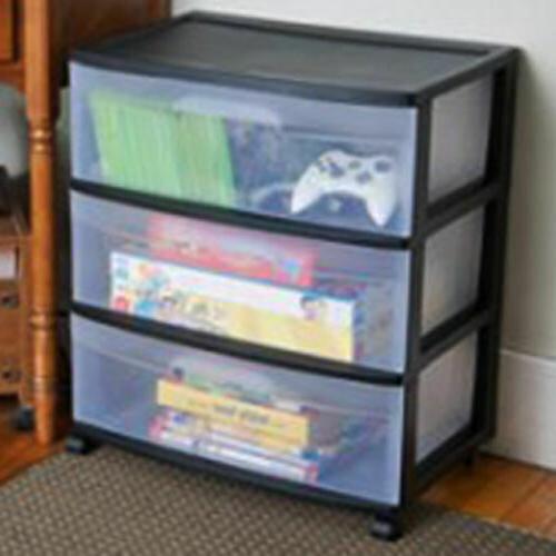 Plastic Storage Drawer Cart Organizer Box