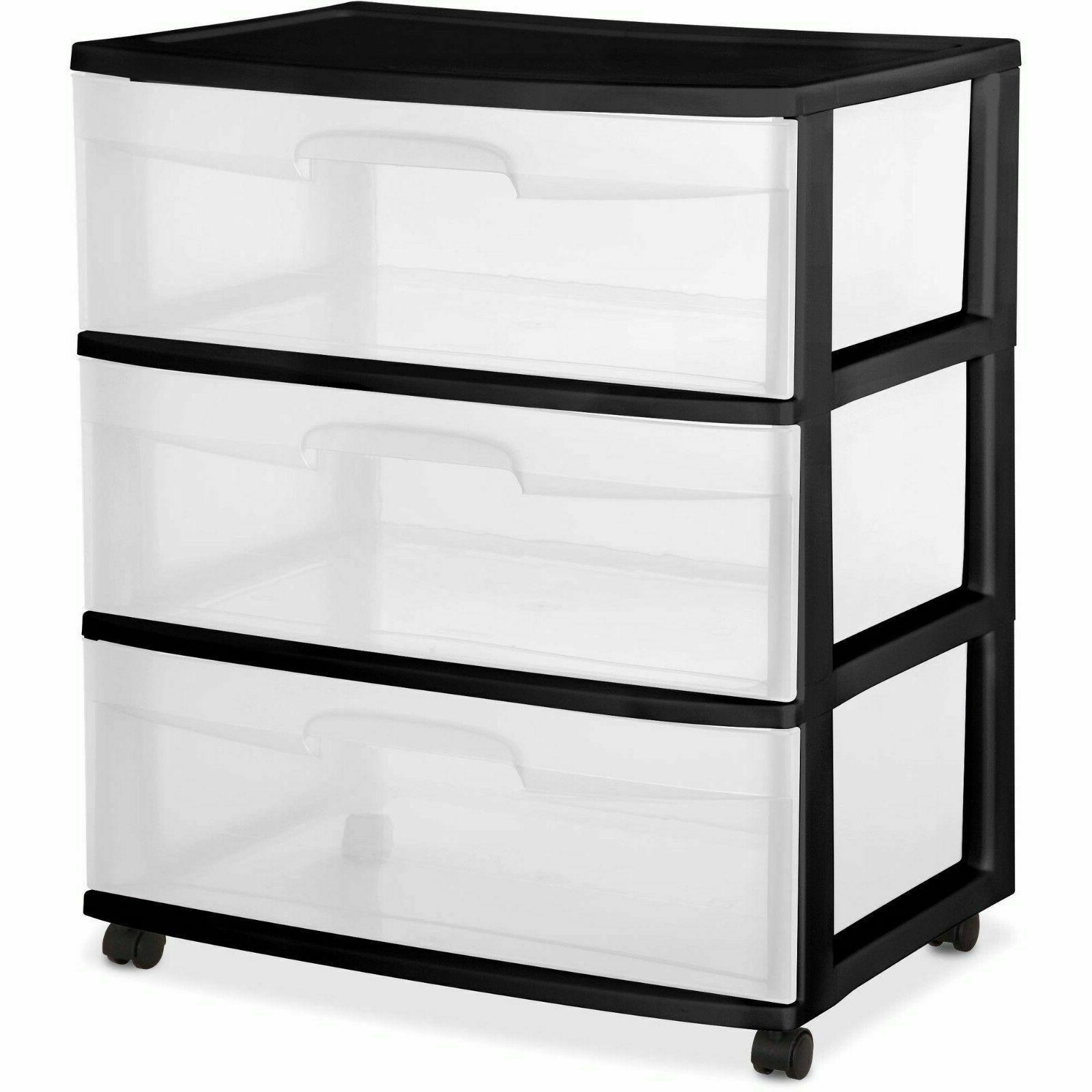 transparent container box cabinet