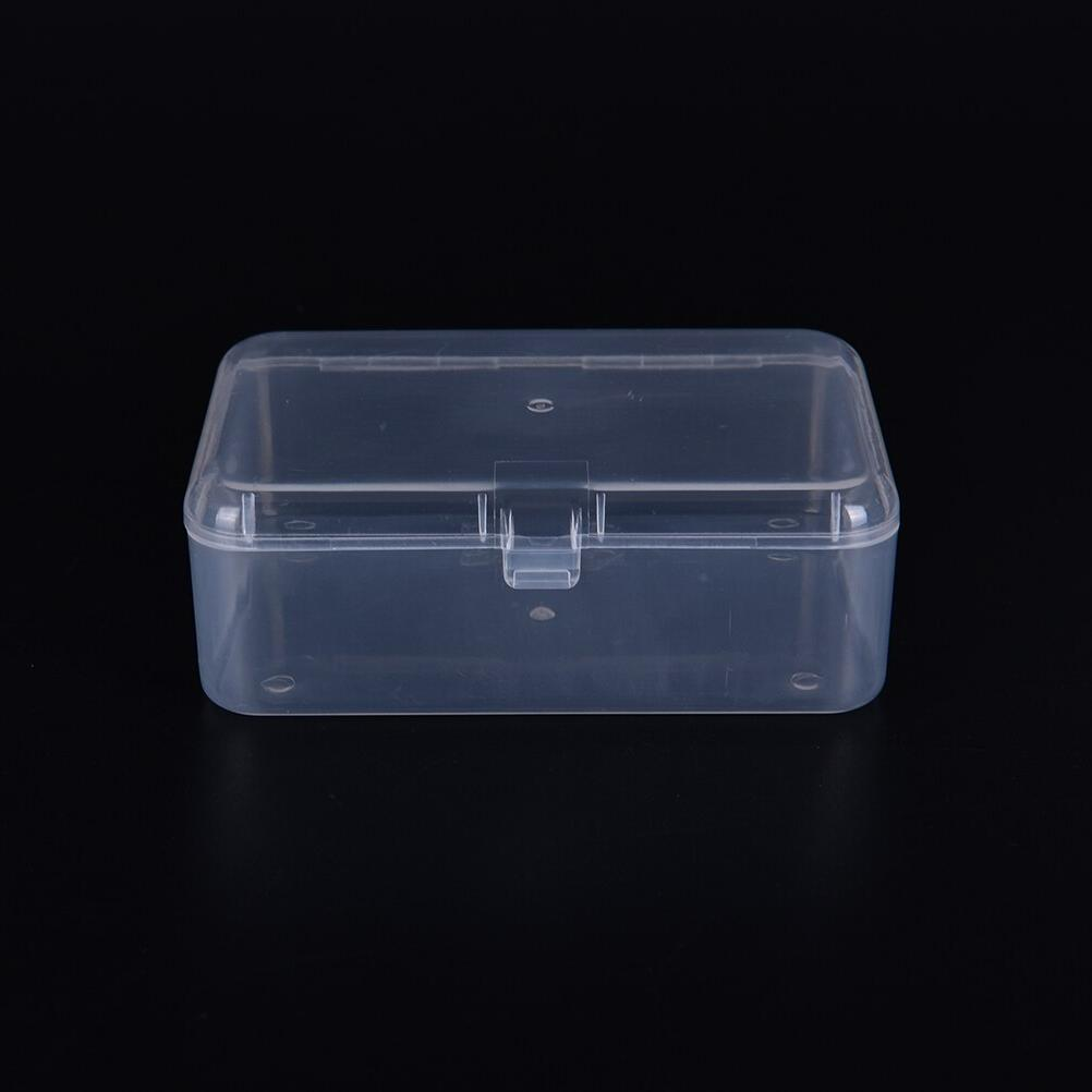 Transparent Plastic <font><b>Storage</b></font> Jewelry Display Cosmetics Collection Element Small Case <font><b>Home</b></font> <font><b>Organization</b></font> Case