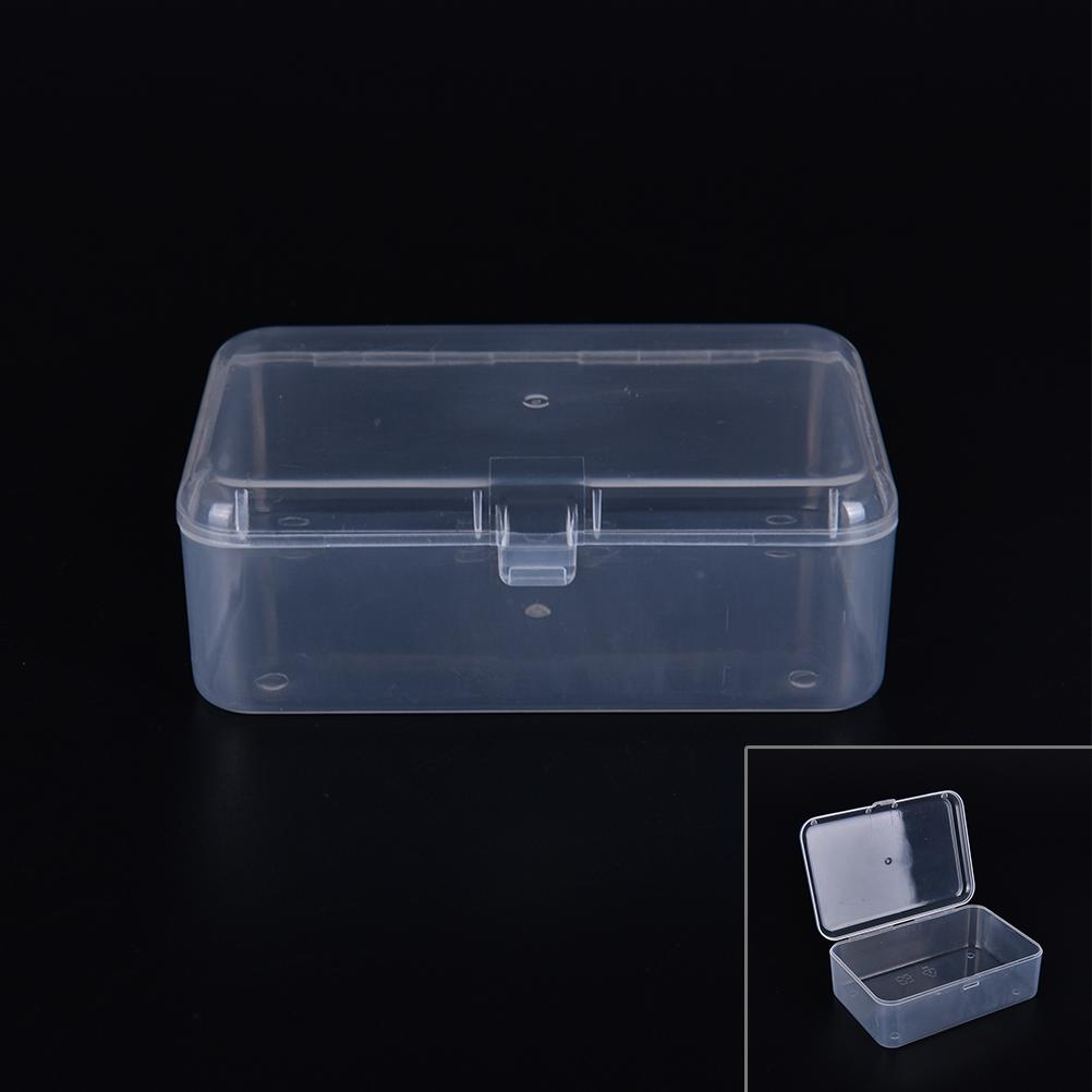 Transparent <font><b>Storage</b></font> Jewelry Display for Collection Parts Element Small Case <font><b>Organization</b></font> Case
