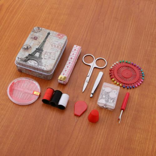 Travel Sewing Kit and Kit Storage for Supplies