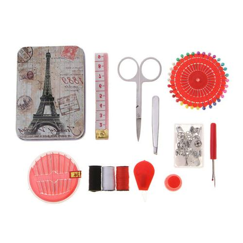 Travel and Thread Kit with Storage Box Supplies