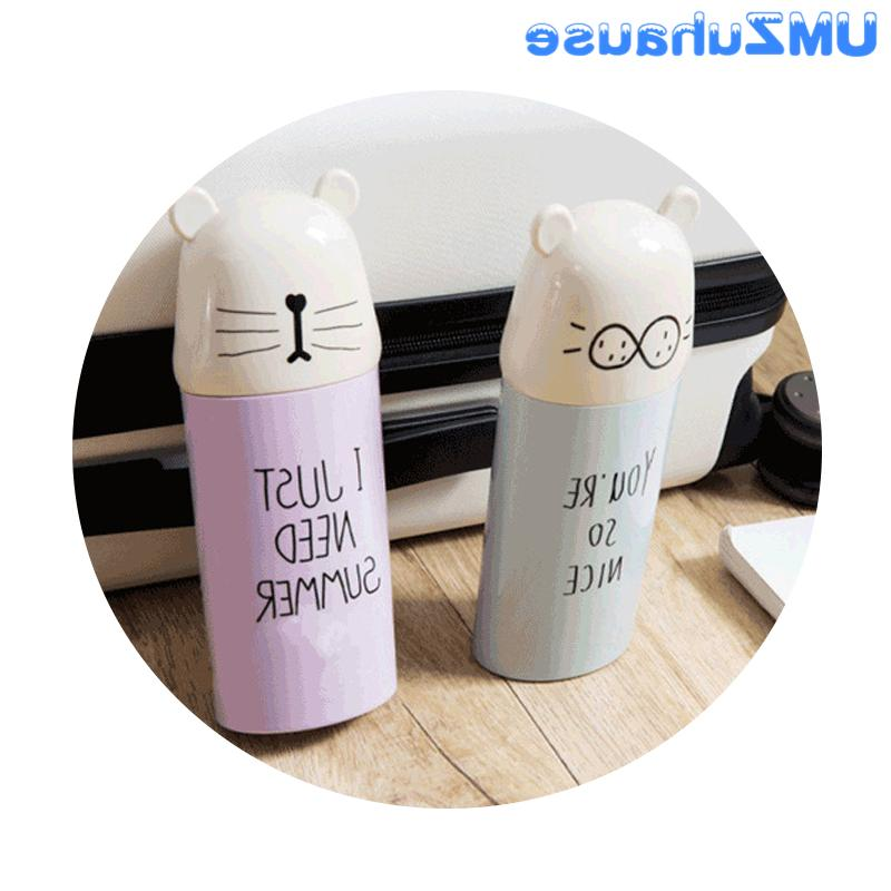 Travel Toothbrush <font><b>Boxes</b></font> Cute Cartoon Teeth Washing Case Bin Portable