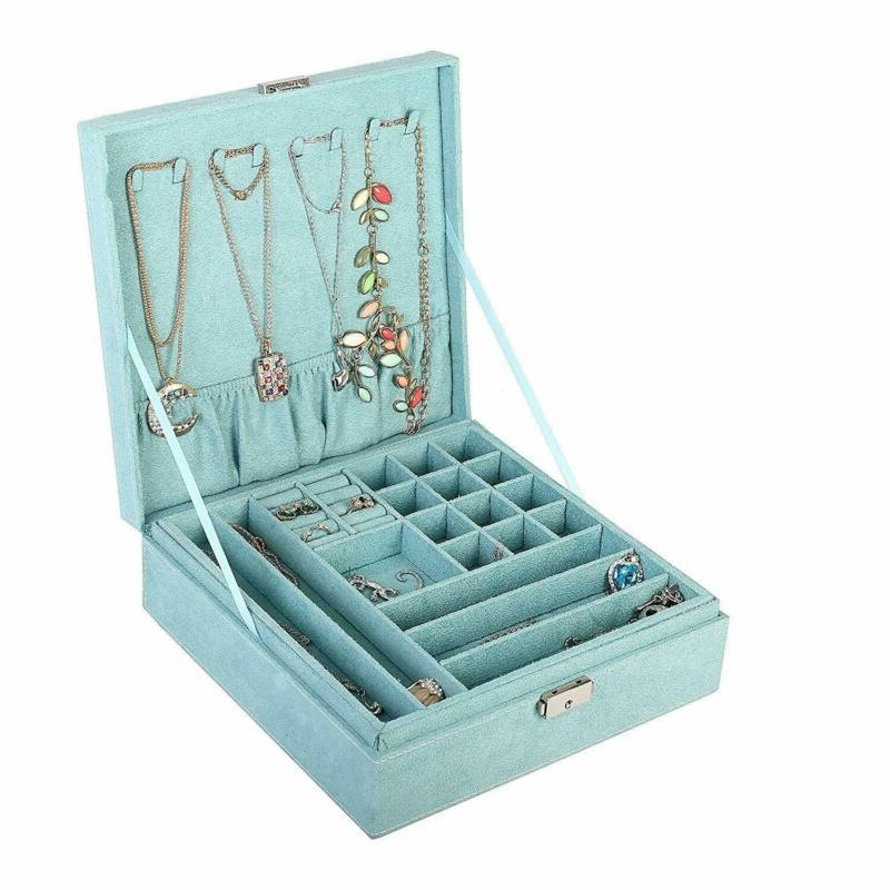 Kloud Two-Layer Lint Jewelry Storage Case (