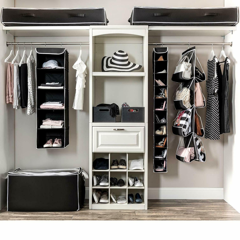 Under Storage Bag 2x Box Chest Shoes Closet