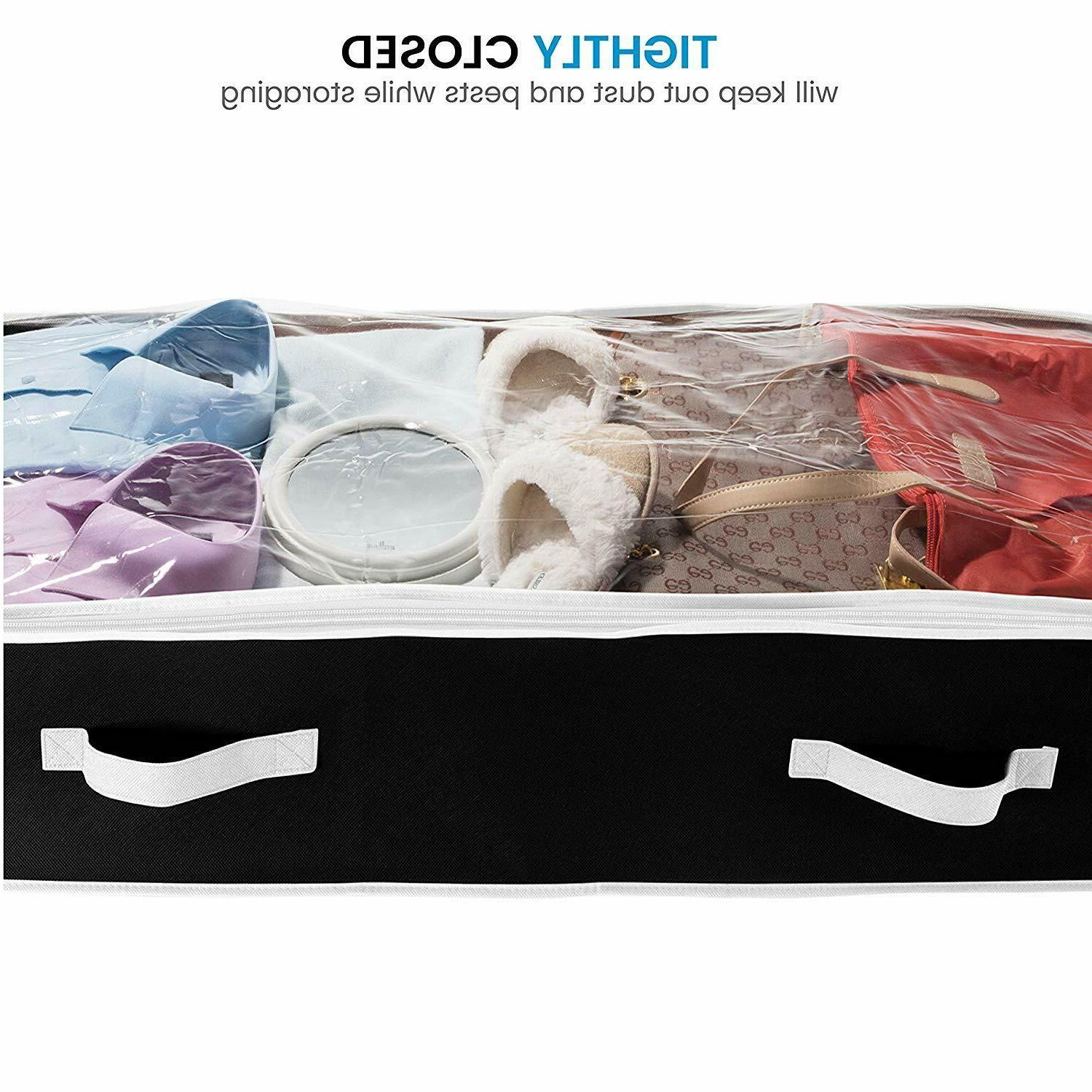 Under Bed 2x Clothes Chest