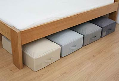 Under Bed Storage Container, Underbed Box with Blan