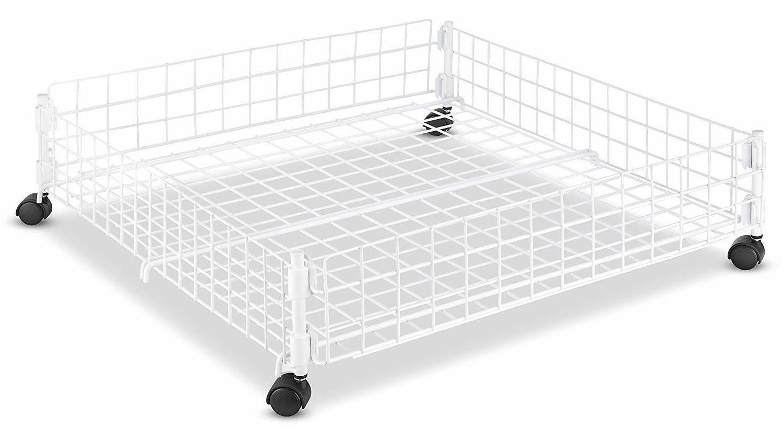 Storage Under Bed Organizer Hidden Container Bins Wheels Box
