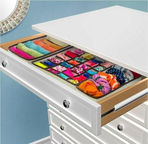 Collapsible Organizer Drawer Dividers 4 4