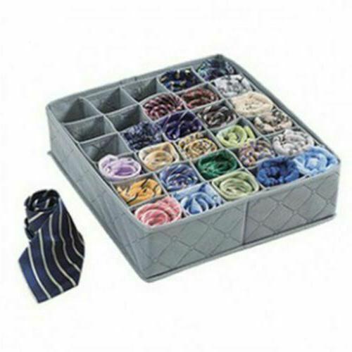Underwear Ties Socks Drawer Organizers 30 Cell Storage Box C