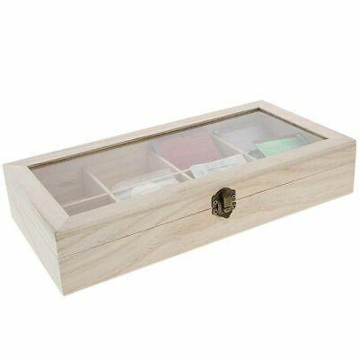 "Unfinished Storage Organizer Compartments, x x 2"""
