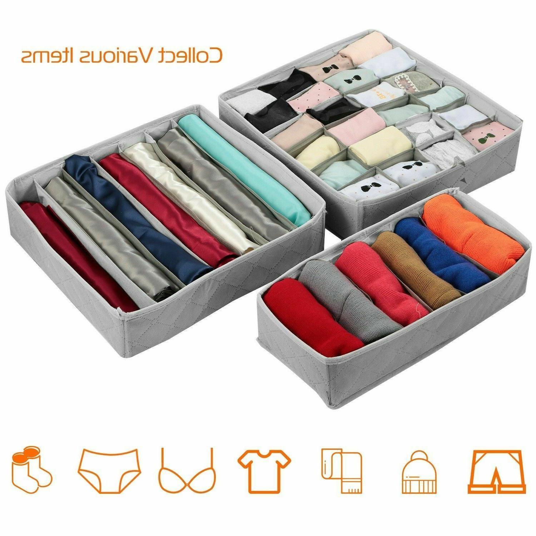 us 3pcs sock bra underwear closet drawer