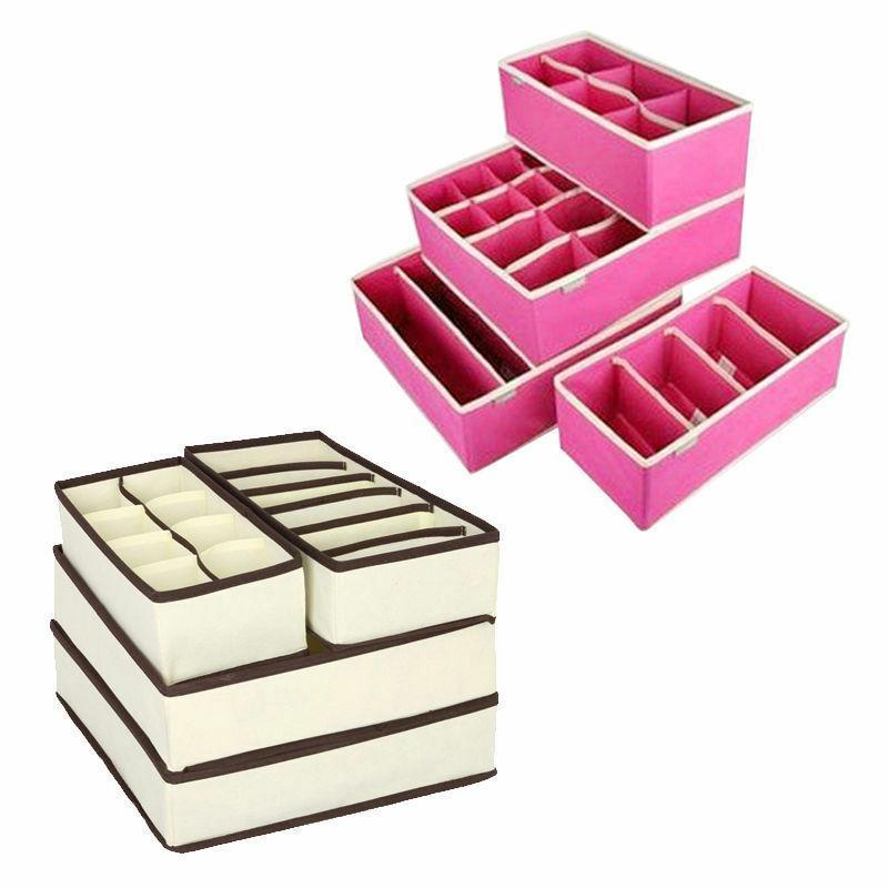 4PCS Drawer Storage Box US