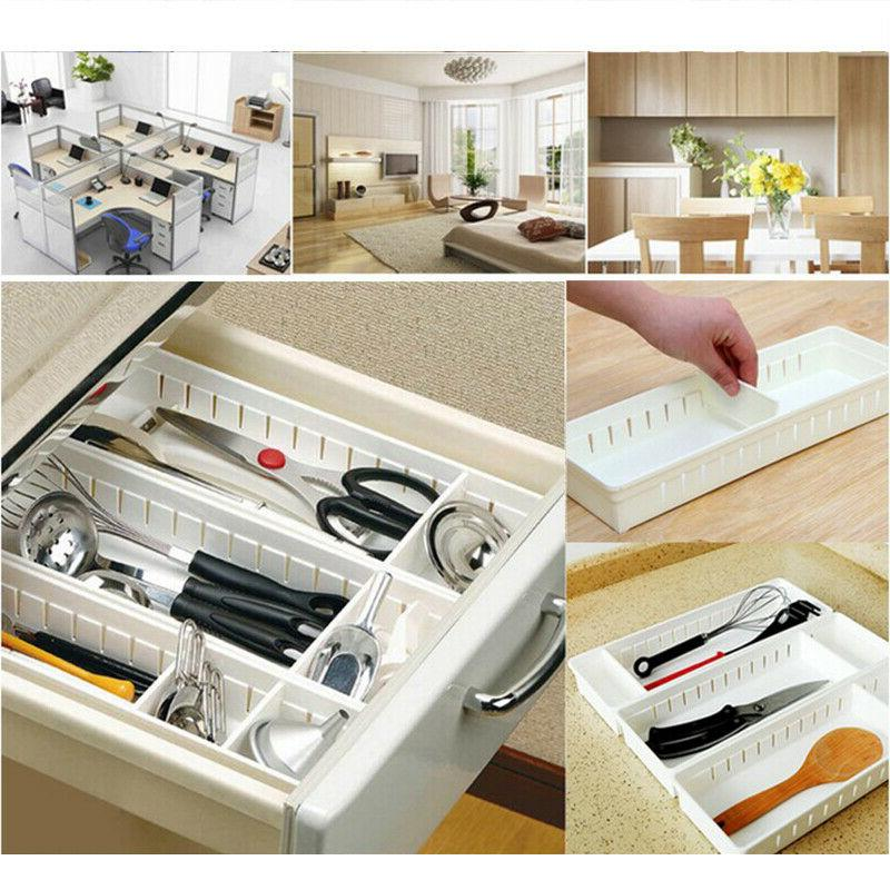 us adjustable new drawer organizer home kitchen