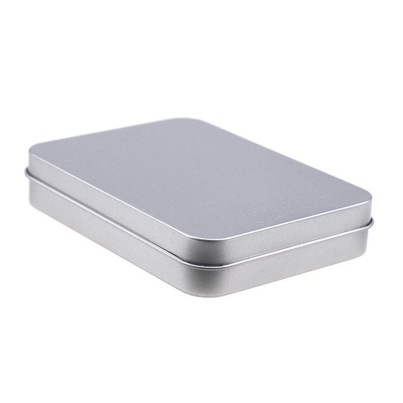US Stock Small Metal Tin Box Case Durable