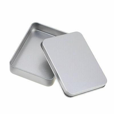 US Tin Silver Storage Case Organizer