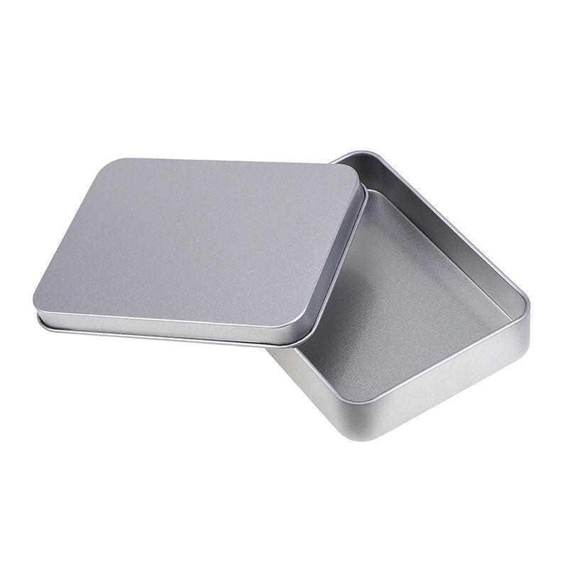 US Small Tin Box Case Durable