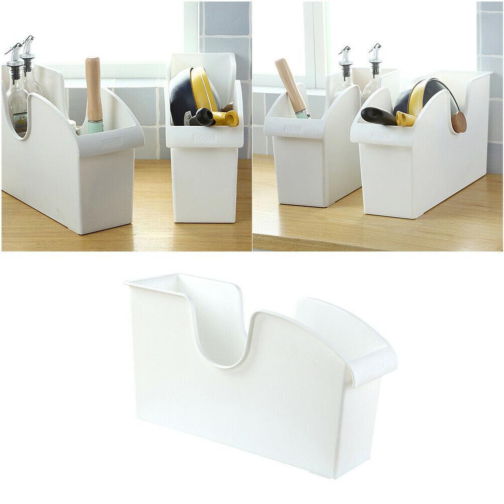 Utility Storage Basket Holder Pan Box