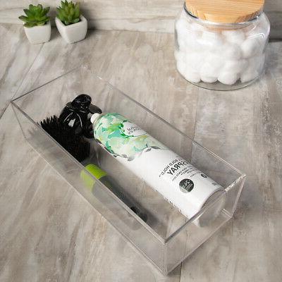 Vanity Drawer Organizer Versatile Home Bathroom Storage Household