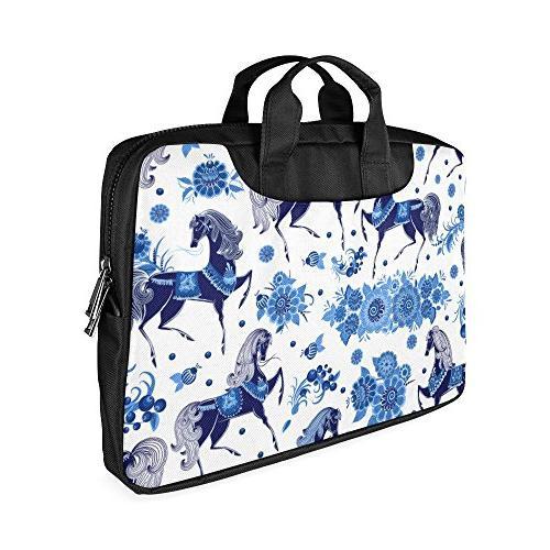 Veronica Rockefeller Bag,Beautiful Floral Portable Laptop Bag/Shoulder Bag/messenger bag/Notebook Crossbody Strap