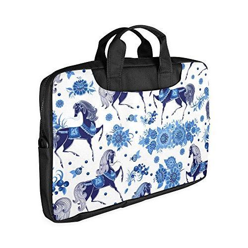 Veronica Rockefeller Bag,Beautiful Floral Horse Stylish Portable Carrying Bag/messenger Crossbody Strap