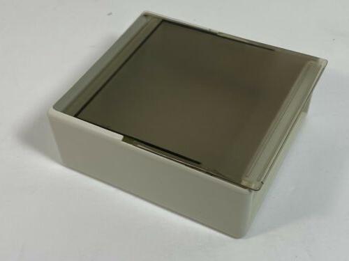 Vintage Fellowes Disk Holder Storage Fan Case USA