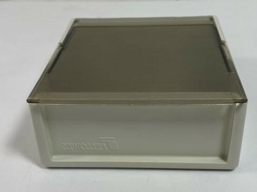 Vintage Floppy Diskette Disk Storage Fan USA
