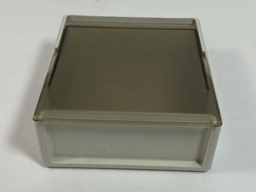 vintage floppy diskette disk holder storage box
