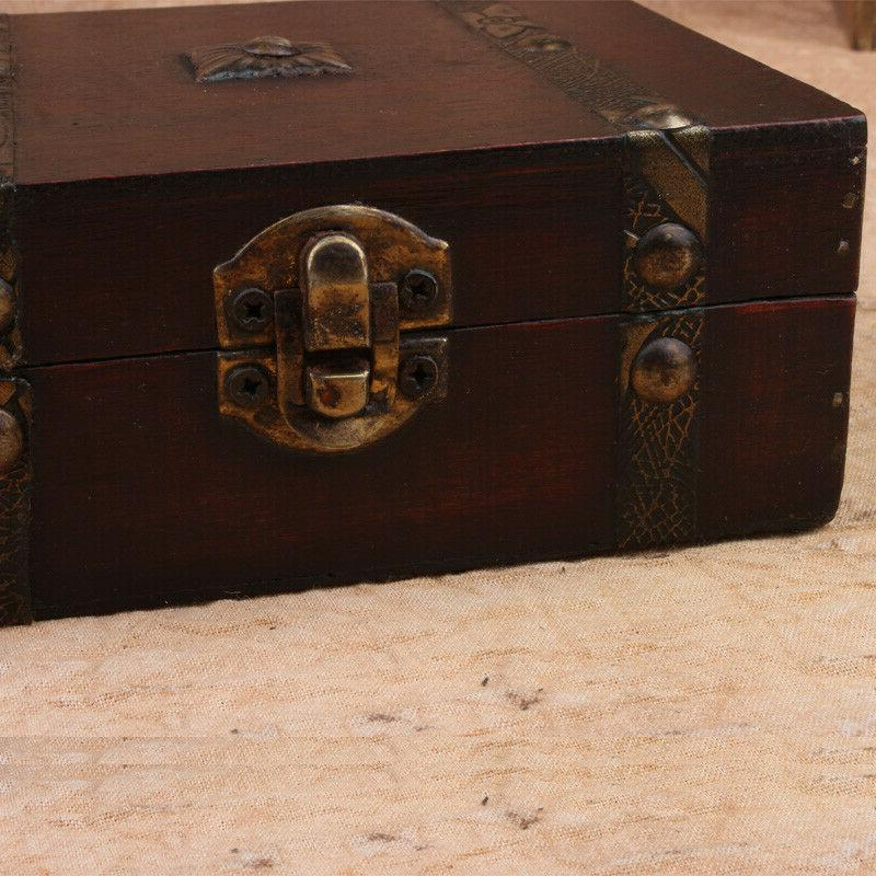Vintage Case Decorative Jewelry Storage Handmade X