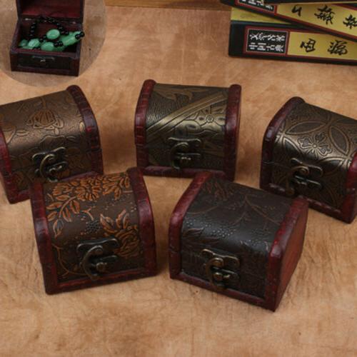 Vintage Trinket Box Treasure Chest