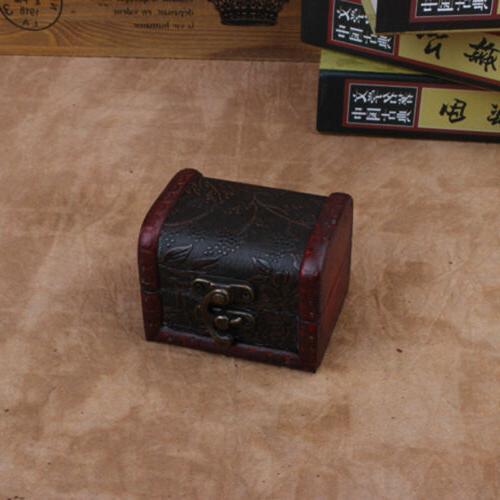 Vintage Wooden Trinket Small Boxes Storage Box