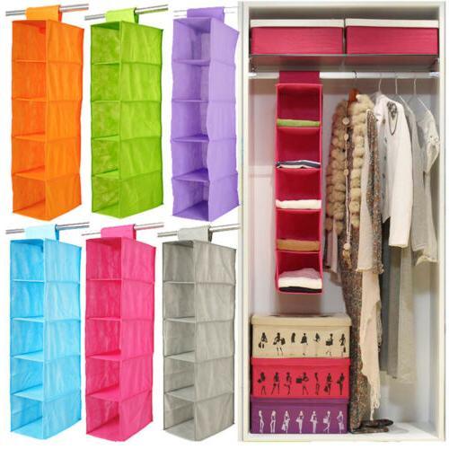 Wardrobe Bag Drawer Box Holder Rack Organizer