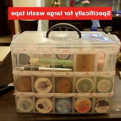 Washi Craft Supplies Storage Tape Box Large