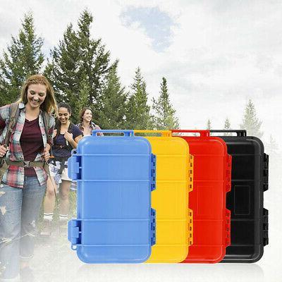 Waterproof Airtight Handle Case Container Outdoor Survival C