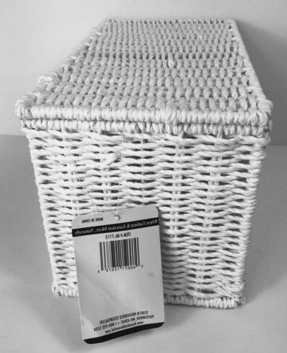 Household White Rope Storage