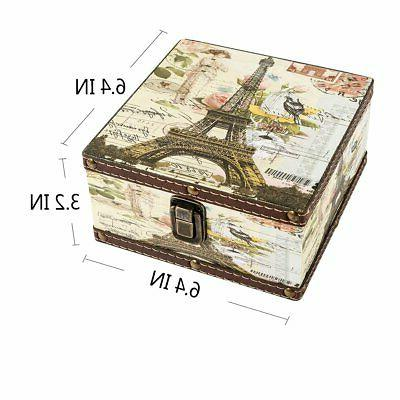 Wood Box Memory Boxes Tower Decorative Boxes