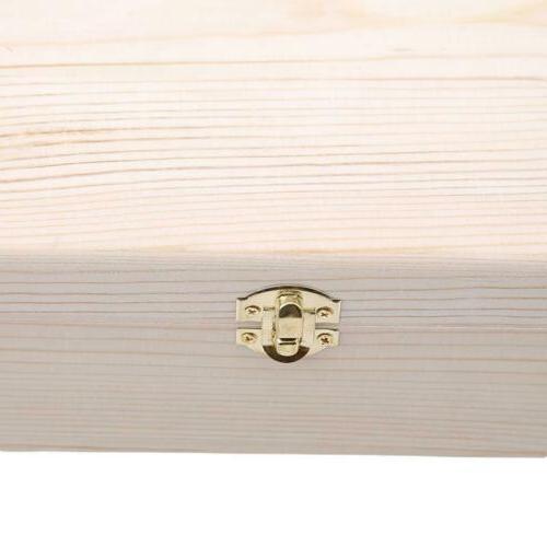 Wooden Box Storage Decor Wood Chest