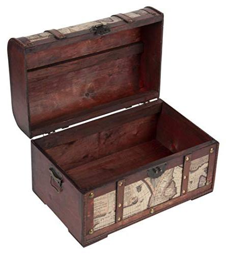 Juvale Chest 3-Piece Chests - Style - Pirate Treasure Chest in 3