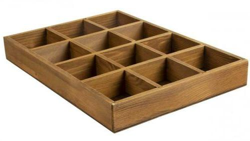 Juvale Desk Drawer Organizer Divided Tray Small
