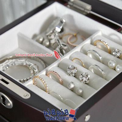 Wooden Treasure Amoire Storage Cabinet