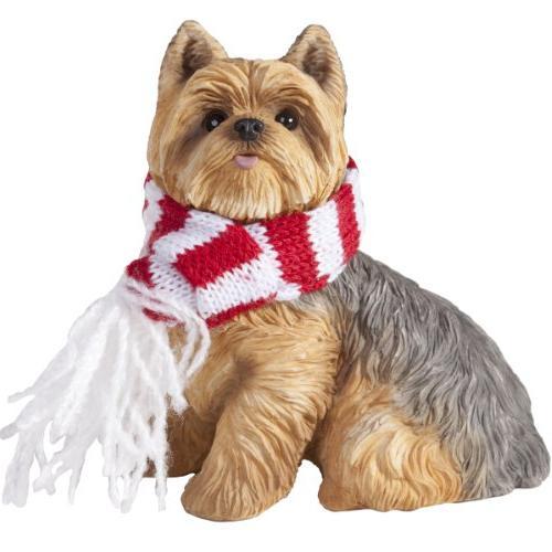 yorkshire terrier christmas tree ornament