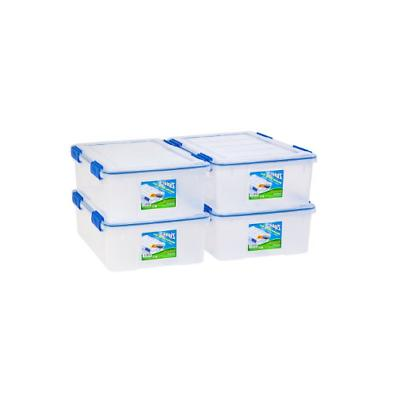ziploc weather shield storage clear