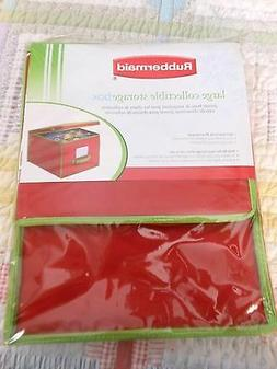 Large Collectible Christmas Storage Box Rubbermaid NEW