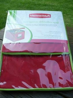 Rubbermaid Large Collectible Storage Box Christmas Ornaments