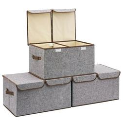 Large Storage Boxes for Dressing Room, Kids Room, Toys, Line