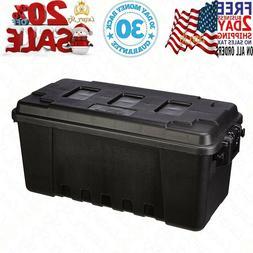 Large Storage Heavy Duty Trunk Box Tote Locker Case Containe